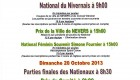 National du Nivernais 18,19 et 20 Octobre 2013