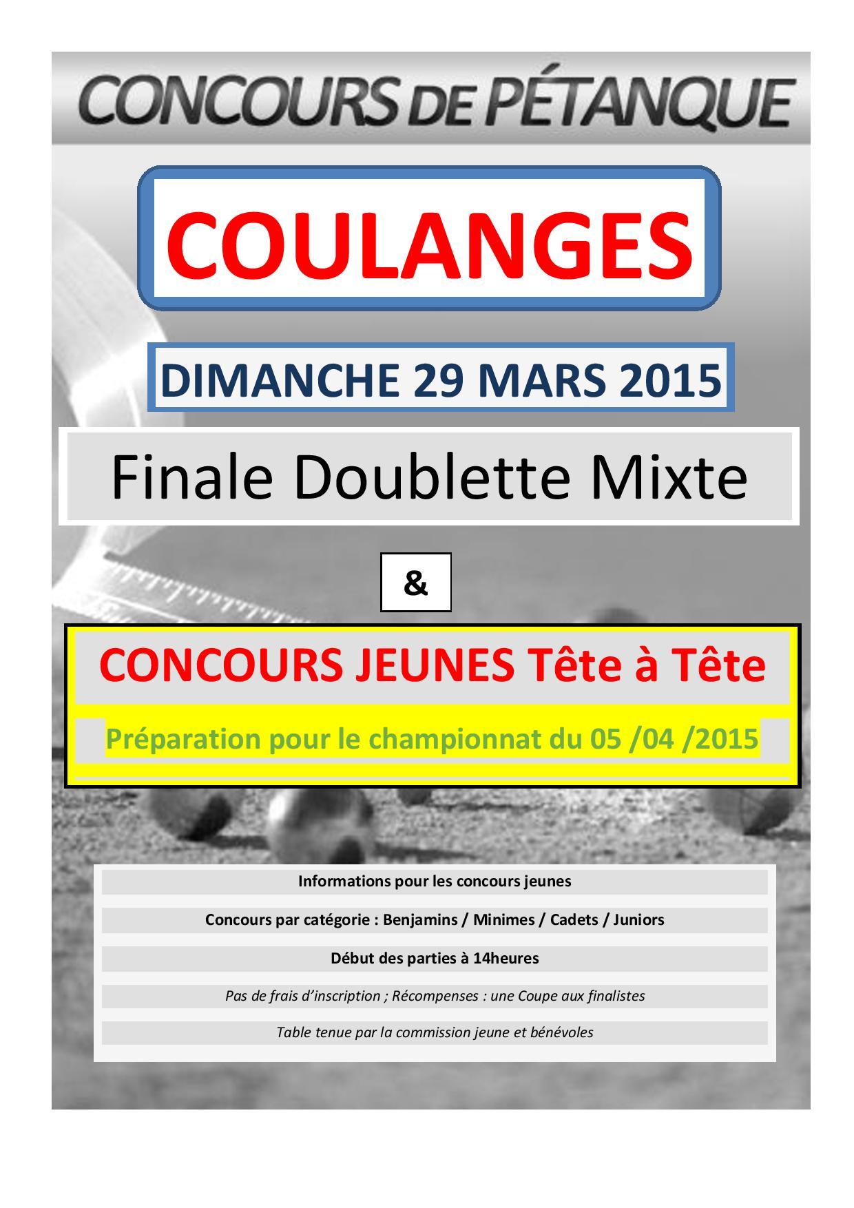 Affiche JEUNES COULANGES  du 29 03 2015-page-001