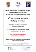 National MIGENNES 2015