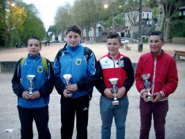CADET champion et vice 2016