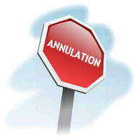 Annulation Concours